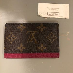 Louis Vuitton monogram cardholder